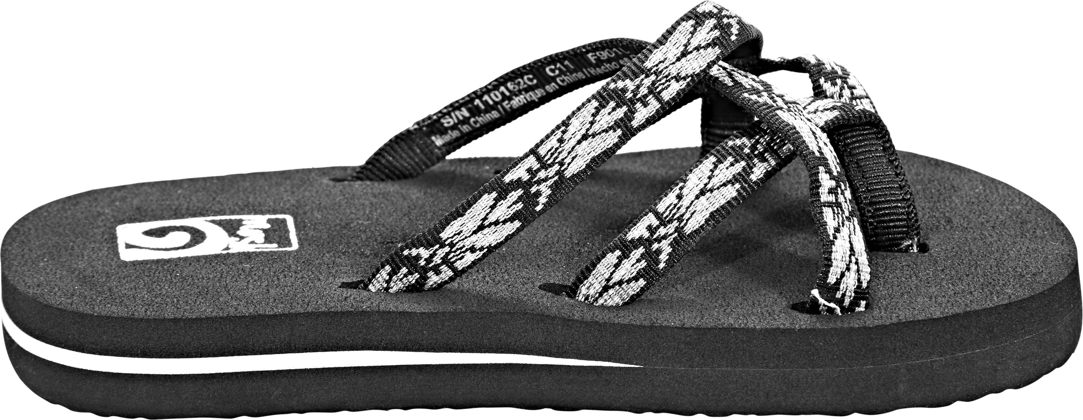 2de6a9ca1 Teva Olowahu Sandals Children Hazel Black Silver